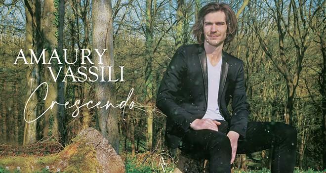 Amaury Vassili'den yeni albüm: CRESCENDO