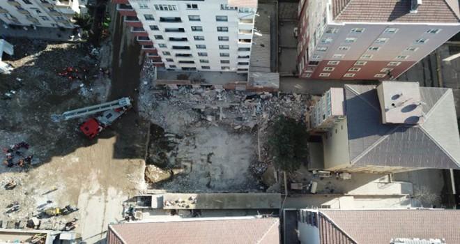 Çöken bina ile ilgili 3 kişi gözaltında