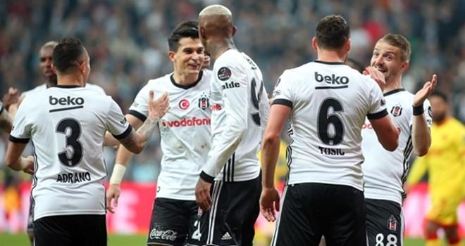Beşiktaş'tan gol yağmuru!