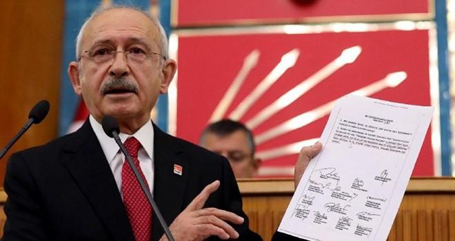 Kılıçdaroğlu, Erdoğan'a dava açıyor