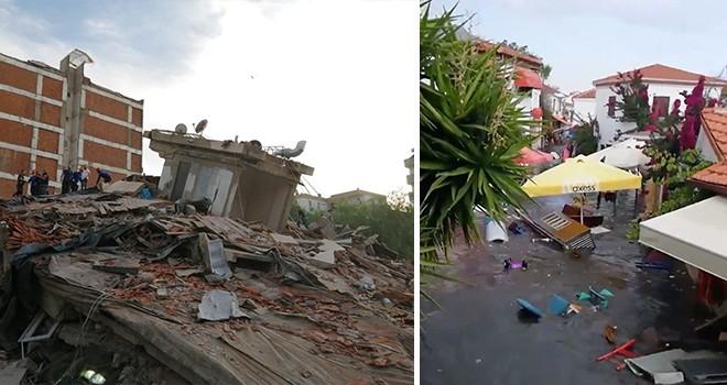 Cumhurbaşkanı Erdoğan'dan deprem açıklaması ve yaşananlar