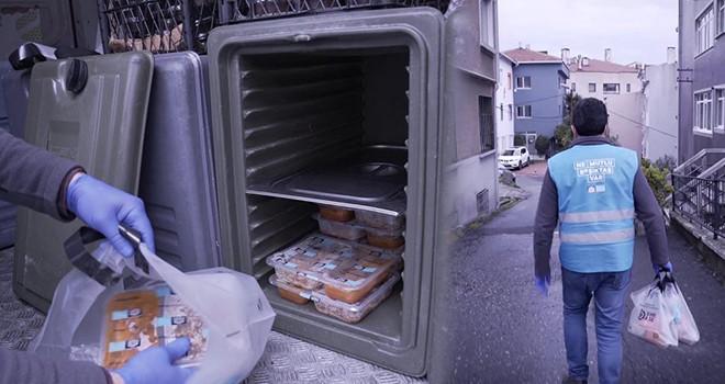 Beşiktaş'ta ihtiyacı olan her eve sıcak yemek girecek