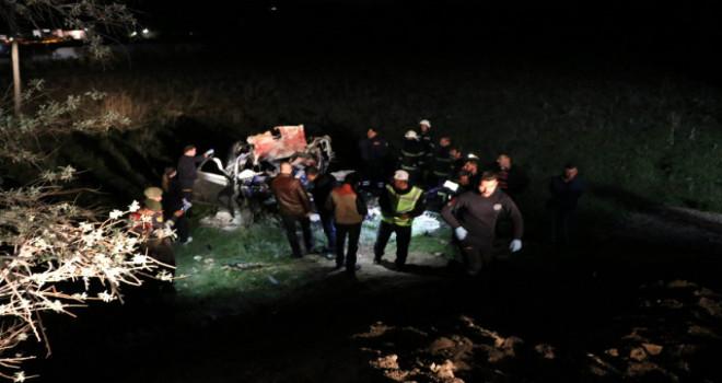 Nevşehir'deki korkunç kazada 5 üniversite öğrencisi canından oldu