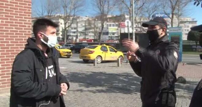 Beşiktaş'ta kısıtlamayı ihlal edenlere ceza yağdı