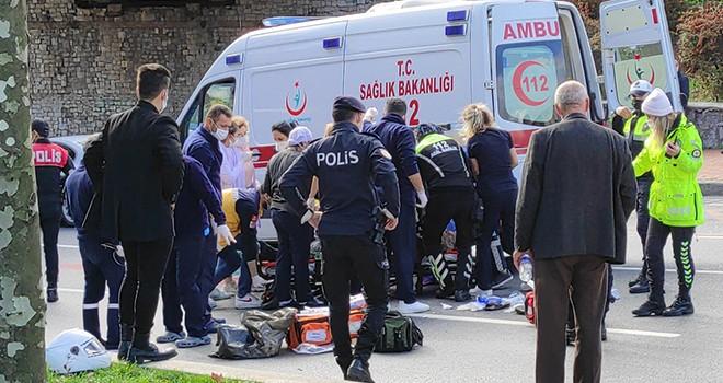 Taksinin çarptığı yaşlı kadın hayatını kaybetti