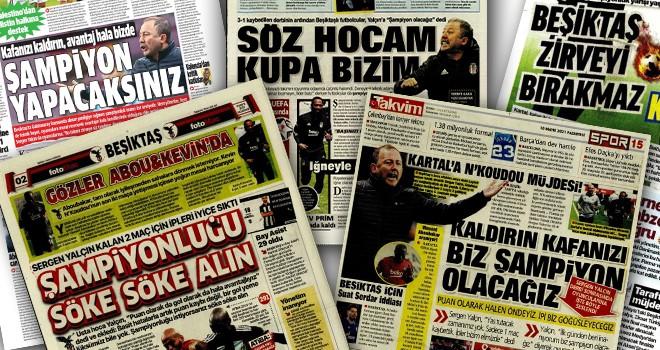 Günün Beşiktaş manşetleri!