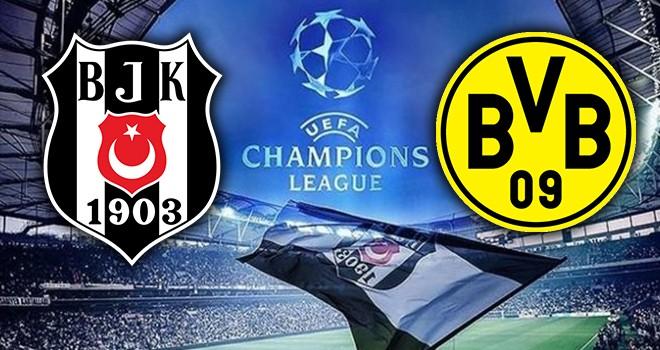 Geri sayım başladı! Beşiktaş - Borussia Dortmund karşı karşıya