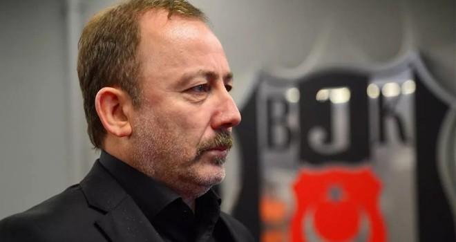 Beşiktaş'tan Sergen Yalçın'a destek