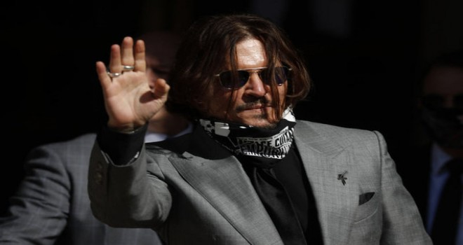 Johnny Depp: Bana Hollywood ünlüsü demeyin