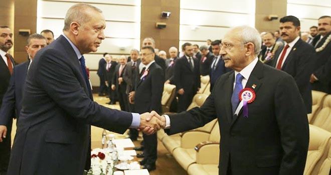 Erdoğan ve Kılıçdaroğlu ilk kez buluştular