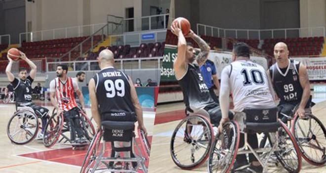Beşiktaş Tekerlekli Sandalye Basketbol Takımı galip geldi