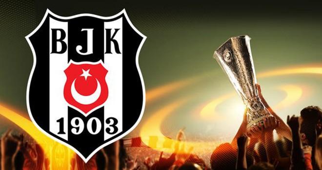 Beşiktaş, UEFA Avrupa Ligi kadrosunu açıkladı