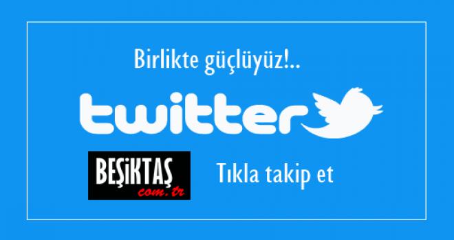 Birlikte güçlüyüz! Twitter hesabımızı takip edin, haberlerinizi yayınlayalım