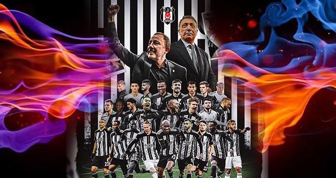 TFF ve Süper Lig takımlarından Beşiktaş'a tebrik mesajları
