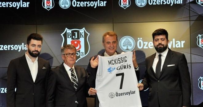 Beşiktaş ile Özersoylar Grubu'ndan sponsorluk anlaşması
