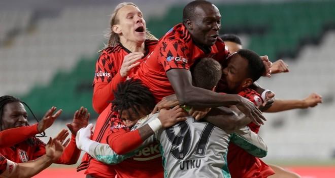 Son yarı finalist Beşiktaş