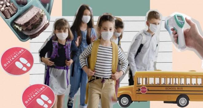 Okullarda maske, mesafe, hijyen dönemi