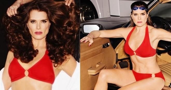 52 yaşındaki aktris güzelliğiyle büyüledi