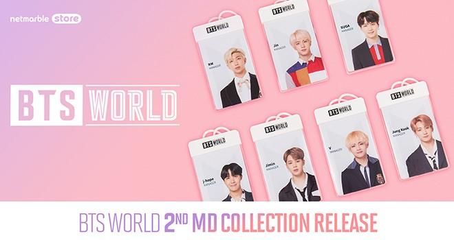BTS World koleksiyon ürünleri satışa çıkıyor