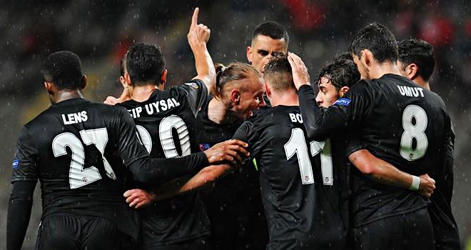 Süper Lig'in en hırçın takımı Beşiktaş
