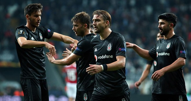 Beşiktaş - Braga: 1-2