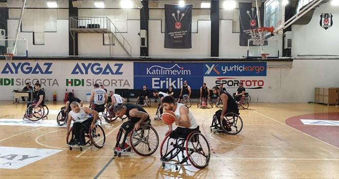 Beşiktaş Tekerlekli Sandalye Basketbol Takımı'ndan rekor galibiyet