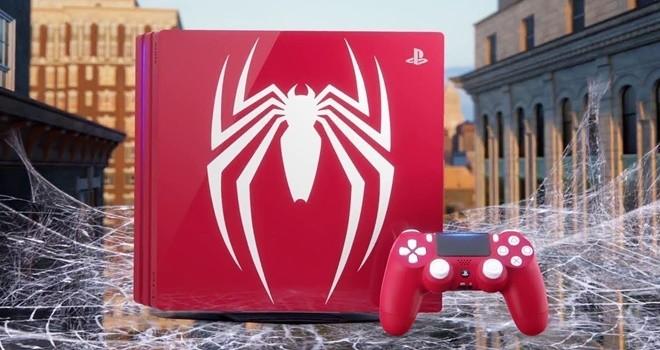 Sony'den Spider-Man'e özel oyun konsolu