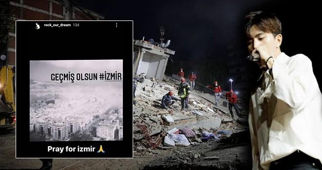 Güney Koreli sanatçı Rockdaily'den İzmir depremi için paylaşım
