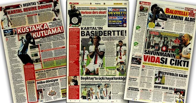 Beşiktaş manşetleri (23 Eylül)