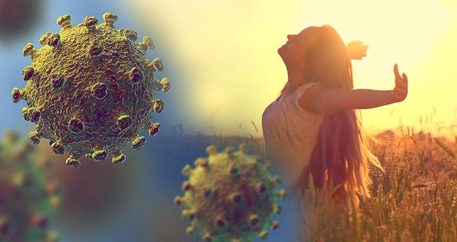 Güneş ışığı Koronavirüs'ü öldürebilir