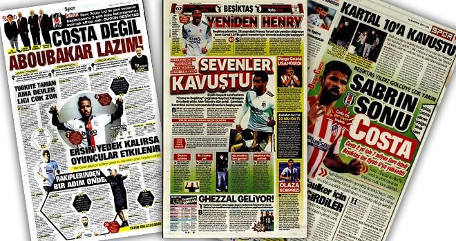Beşiktaş manşetleri (10 Ağustos)