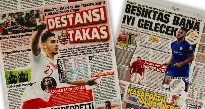 Beşiktaş manşetleri (16 Ağustos)