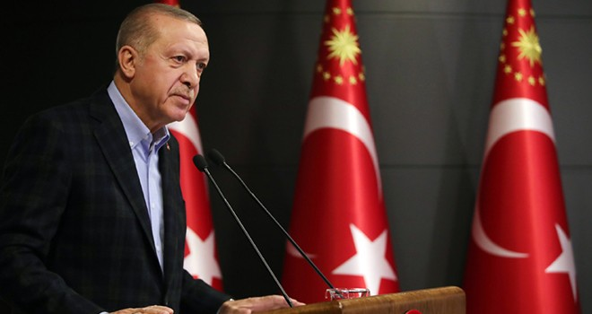 Cumhurbaşkanı Erdoğan'dan Kovid-19 için yeni tedbirler
