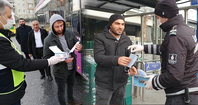 İstanbul'da yeni düzen başladı! İBB'den 100 bin maske