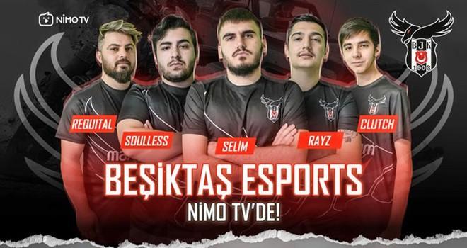 Beşiktaş Esports artık Nimo TV'de!