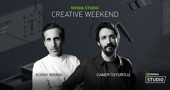 NVIDIA Studio, Creative Weekend canlı yayınlarında sanatçıları konuk ediyor