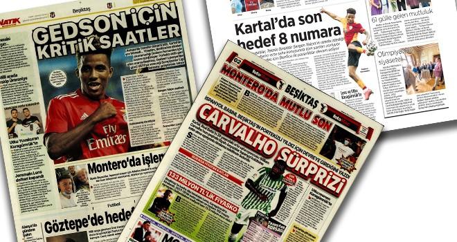Beşiktaş manşetleri (1 Eylül)
