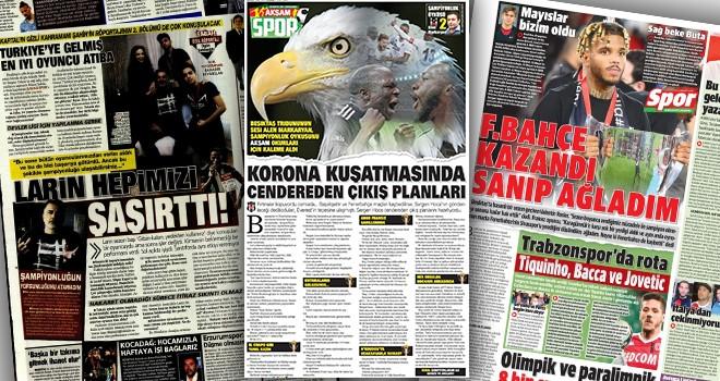 Beşiktaş manşetleri!..
