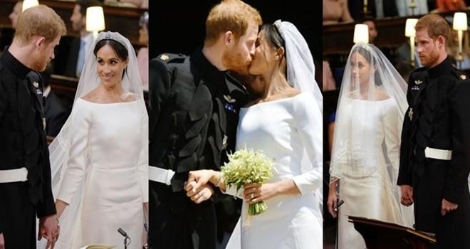 Yılın düğünü! Prens Harry ile Meghan Markle evlendi