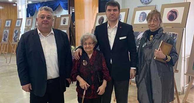 93 yaşında Etiler Huzurevi'nde resim sergisi açtı