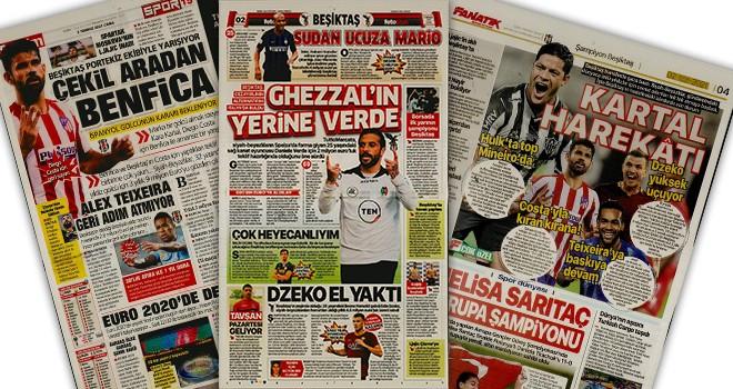 Günün Beşiktaş manşetleri (2 Temmuz)