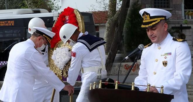 Ertuğrul Fırkateyni Şehitleri Beşiktaş'ta törenle anıldı