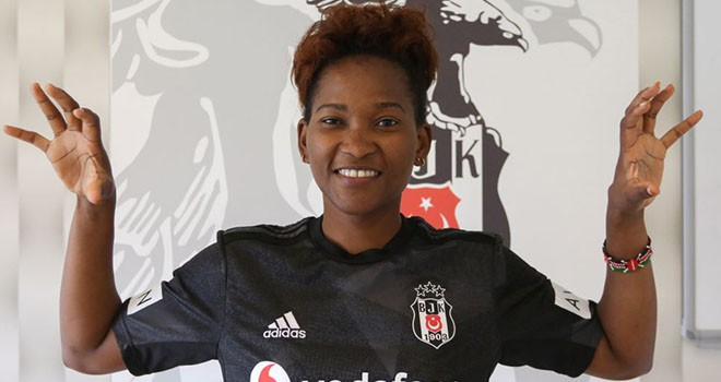 Beşiktaş'ın yeni Kartaliçesi Esse Mbeyu Akida
