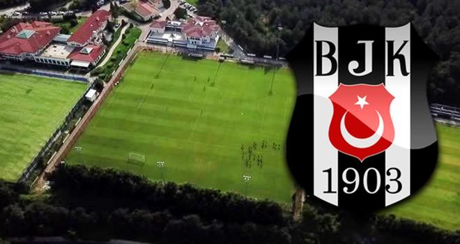 Beşiktaş drone'la antrenmanı görüntüleyen gazetecilere giriş yasağı getirdi