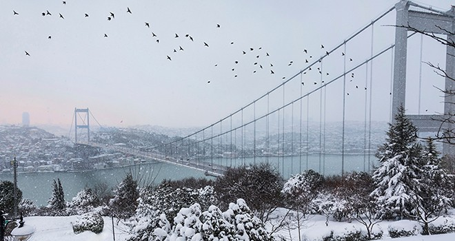 İstanbul'da 15 derece birden düşecek!
