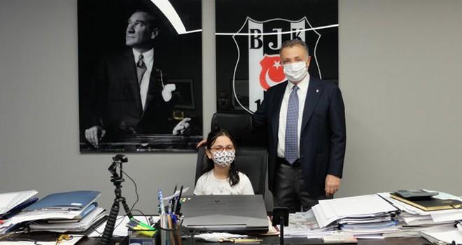 İşte Beşiktaş'ın yeni başkanı! Çebi, koltuğunu Koza Gönlüşen'e devretti