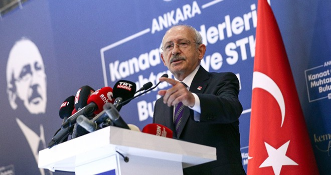 Kılıçdaroğlu: Hiç kimse Anayasa'nın ilk dört maddesine dokunamaz