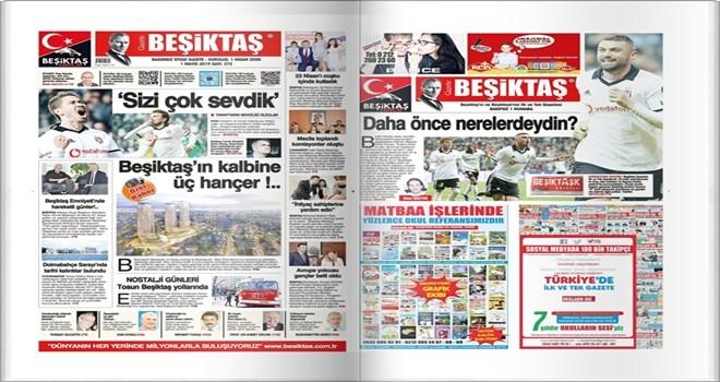 Gazete Beşiktaş Mayıs Sayısı çıktı