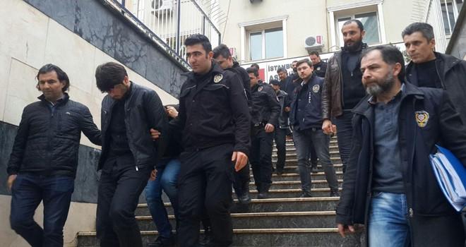 Ortaköy'de çeteye operasyon