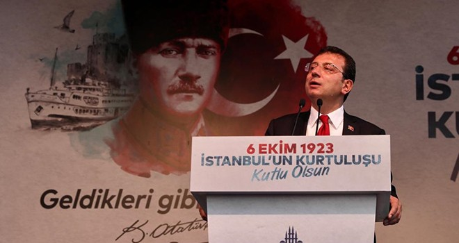 İmamoğlu: Atatürk bir ülkenin başına gelebilecek en güzel şey